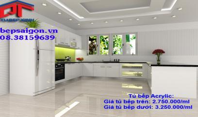 tủ bếp đẹp sg2
