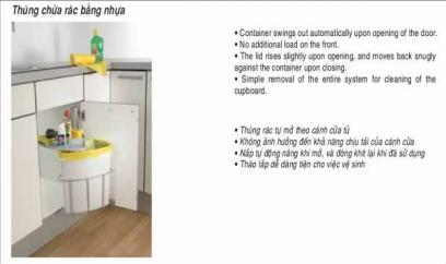 Phụ kiện tủ bếp Hafele 470.01.099