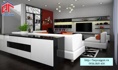 thiết kế nội thất cho phòng khách hiện đại
