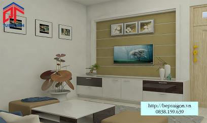 Thi công nội thất phòng khách tại Tân Bình - TTN03