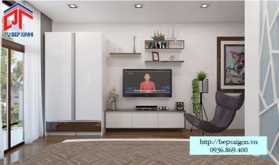 Thi công nội thất phòng khách tại Tân Phú - TTN04