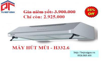 Máy hút khử mùi - MSP: H332.6