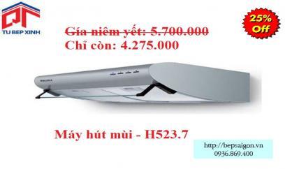 Máy hút khử mùi - MSP: H523.7