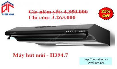 Máy hút khử mùi - MSP: H394.7