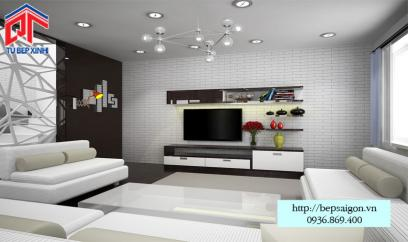 Thi công nội thất phòng khách tại Tân Bình - TTN05