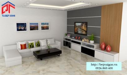 Thiết kế nội thất phòng khách đẹp - TTN06