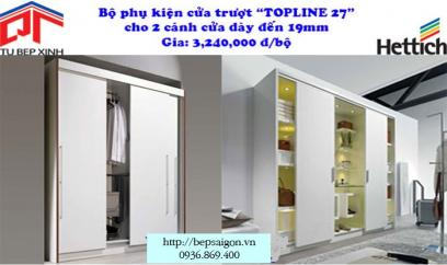 "Cửa trượt ""TOPLINE 27""  - MSP: TL 719 - 25"