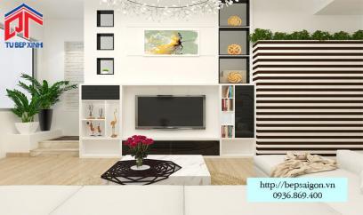 Thiết kế nội thất phòng khách sang trọng - TTN08
