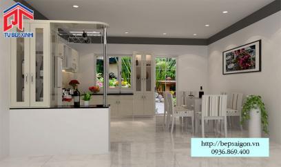 Thi công tủ bếp Acrylic tại Biên Hòa - MTB30