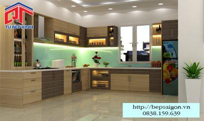 Tủ bếp MFC chống ẩm vượt trội BT07